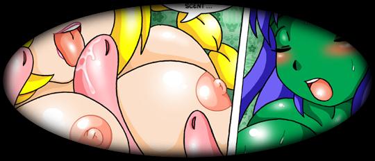 plantgirl tentacles hentai comic